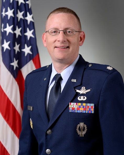 Lt. Col. Timothy Purcell, 50th Operations Support Squadron commander (U.S. Air Force photo)