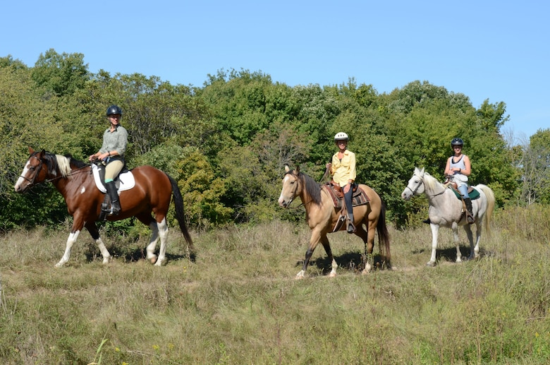 Eau Galle Recreation Area features a campground specifically for equestrians.