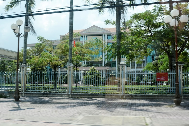 The former orphanage where Aryn Lockhart and other Amerasian orphans lived prior to their evacuation to the U.S. in 1975. The site is now used by the Vietnamese government.