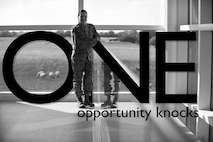 ONE: opportunity knocks (U.S. Air Force photo illustration by Staff Sgt. Jarad A. Denton/Released)