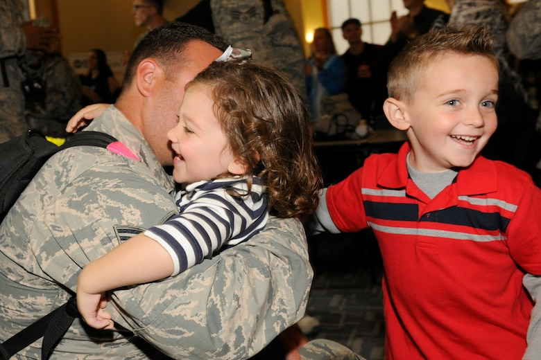 151024-Z-EZ686-243 -- Hundreds of Airmen from the 127th Wing, Selfridge Air National Guard Base, Mich., return home on October 24, 2015 after a six month to Southwest Asia in support of U.S. Central Command's Operation Inherent Resolve.   (U.S. Air National Guard photo by Master Sgt. David Kujawa)