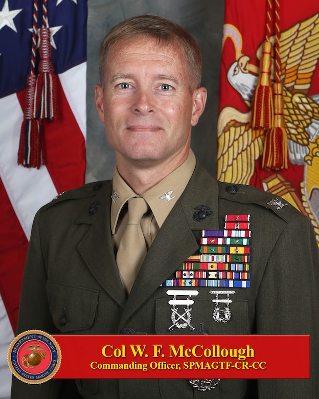 Commanding Officer, SPMAGTF-CR-CC