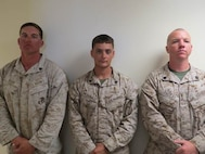 22 Oct 2015 - Coach of the week, Sgt Bishop, Scott D. with RSU and High Shooters SSgt Findlay, Brandon M. with VMM-365 shot a 341