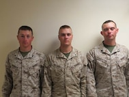 22 Oct 2015 - Coach of the Week is Cpl Homrich, Nathanael 1st Bn 6th Marines and High Shooters, Cpl Overton, James C. with H&HS shot a 340 and PFC Wilbur, Justin T. with 1/6 shot a 340
