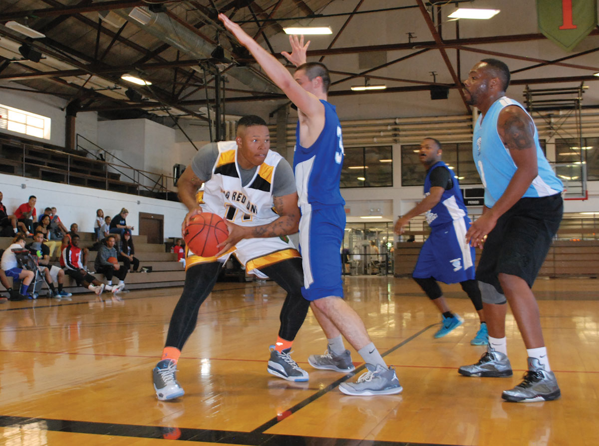 Post Basketball Team Plays Pre Season Games Against Mcconnell Fort