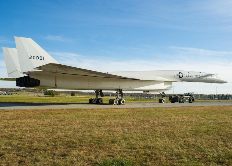 North American XB-70 Valkyrie prior to its move to the new fourth building at the National Museum of the U.S. Air Force. (U.S. Air Force photo by Ken LaRock)