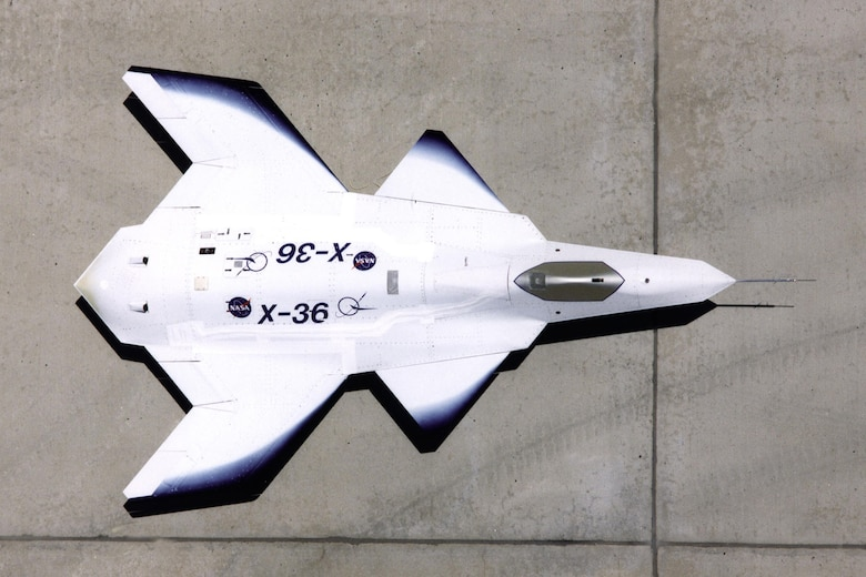 NASA/Boeing X-36. (U.S. Air Force photo)
