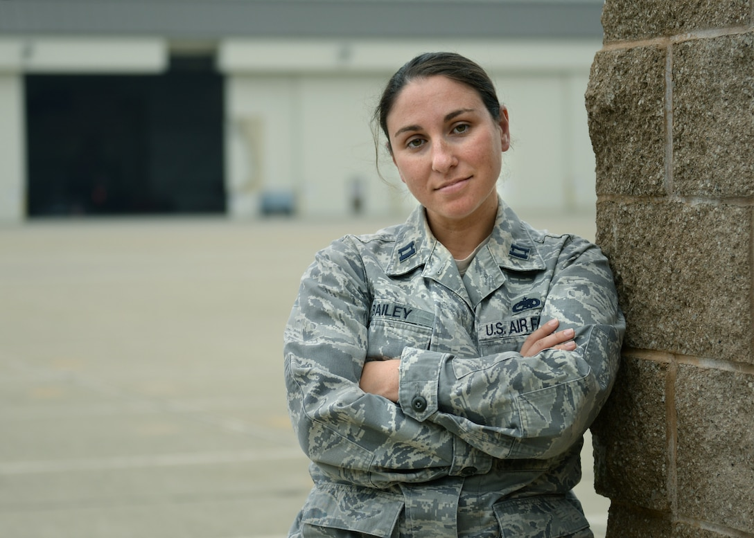 Capt. Meghan Bailey, 9th Maintenance Group, Maintenance Operations Officer in Charge, Hometown: Flanders, New Jersey. (U.S. Air Force photo by Robert Scott)