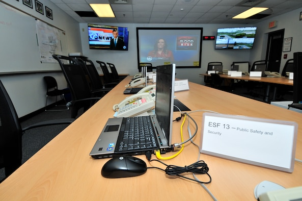 "Emergency Operations Center (EOC) ready for any disaster. The Niagara Falls Air Reserve Station EOC held an ""open house"" at their facility at the base on October 21, 2015. (U.S. Air Force photo by Peter Borys)"