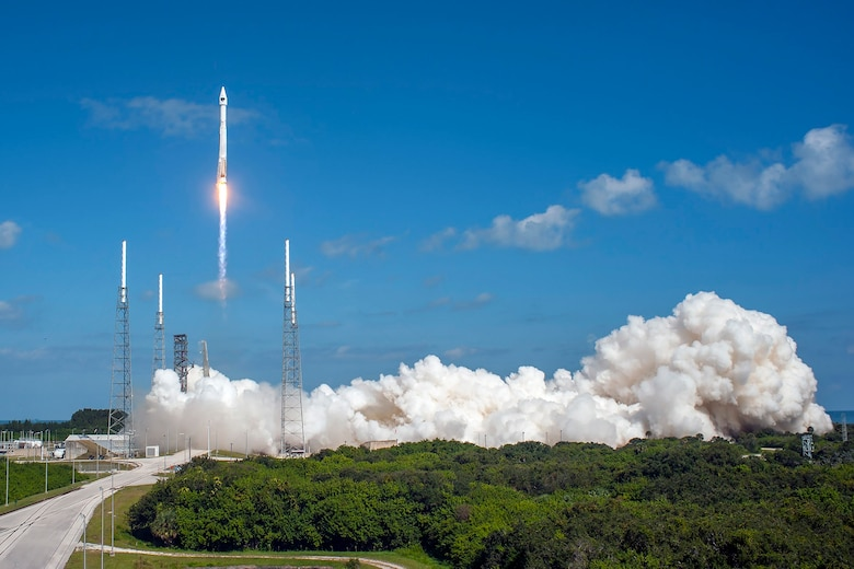 Cape Canaveral Air Force Station, Fla. (Oct. 31, 2015) – A United Launch Alliance (ULA) Atlas V rocket carrying the GPS IIF-11 mission lifted off from Space Launch Complex 41 at 12:13 p.m. EDT. (Photo by United Launch Alliance)