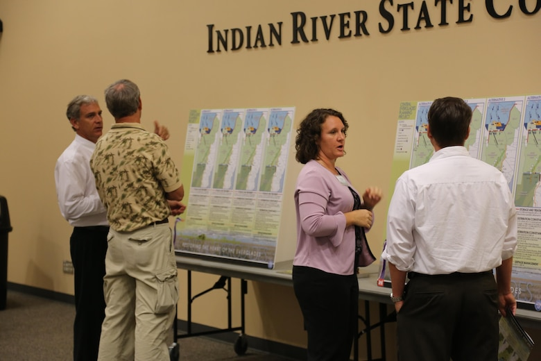 The Corps' planning process requires robust public participation to ensure stakeholder involvement, understanding, and support.  For the Central Everglades Planning Project alone, 74 public engagements were conducted within 29 months.