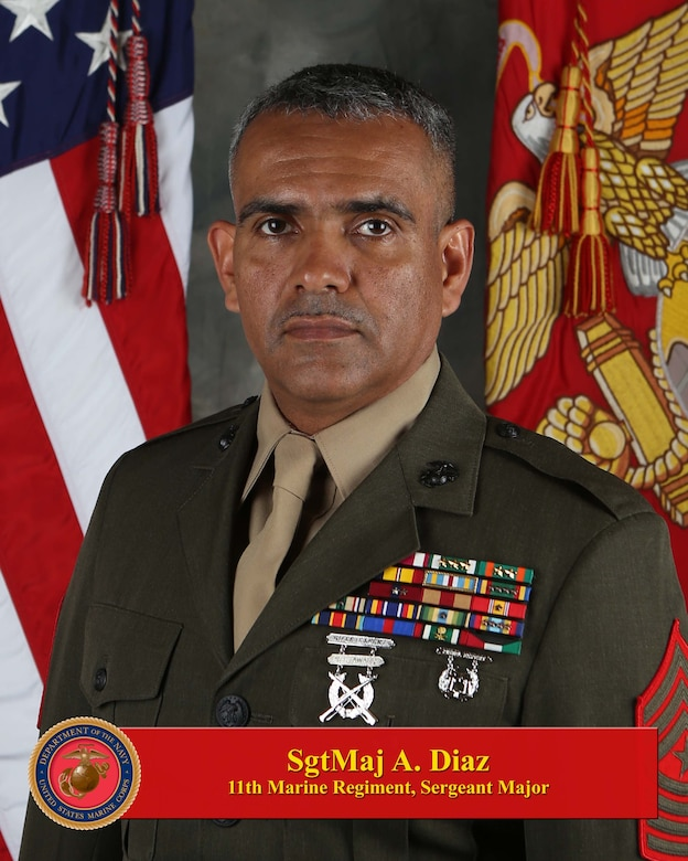 Sergeant Major, 11th Marine Regiment
