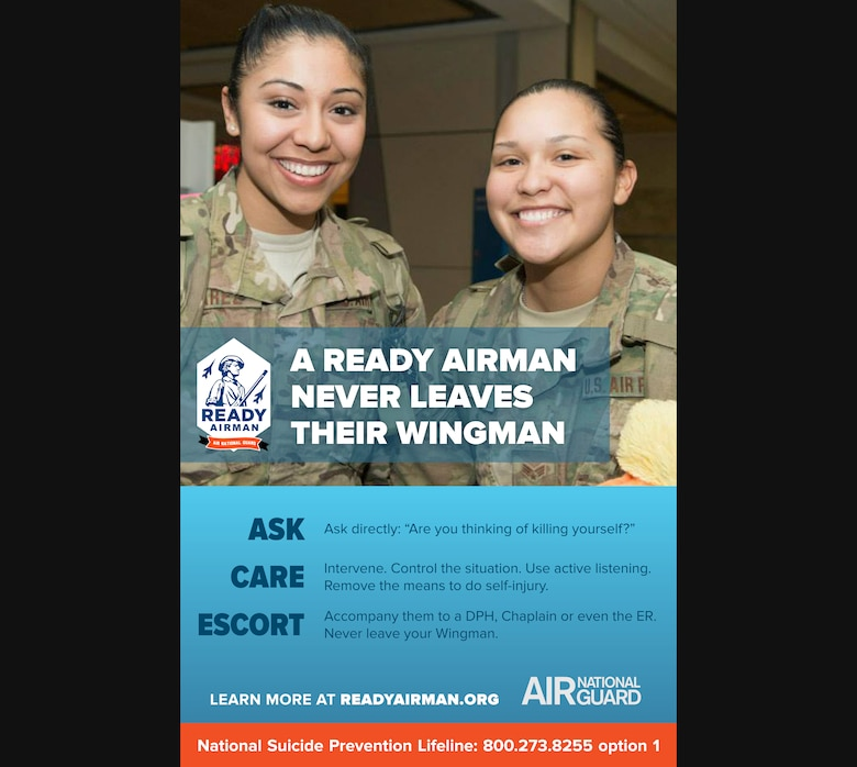 Ready Airman is a resiliency, risk and safety resource for Air National Guard members and their families in all 50 states, three territories and the District of Columbia. Its goal is to reach out and engage ANG families, who are often geographically separated from the base community. Ready Airman helps sustain a virtual community to equip Air National Guard members and their families with additional tools they need to connect with each other and better balance military and civilian life. Ready Airman promotes social, spiritual, mental and physical fitness to Guard members and their families, following the Air Force's Comprehensive Airman Fitness model. Visit www.readyairman.org for more.