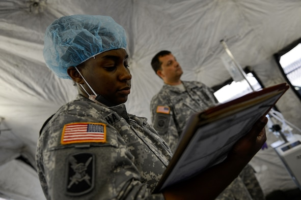 Medical Qualification Chart: Airmen and Soldiers display rapid medical response e cp styledfont ,Chart