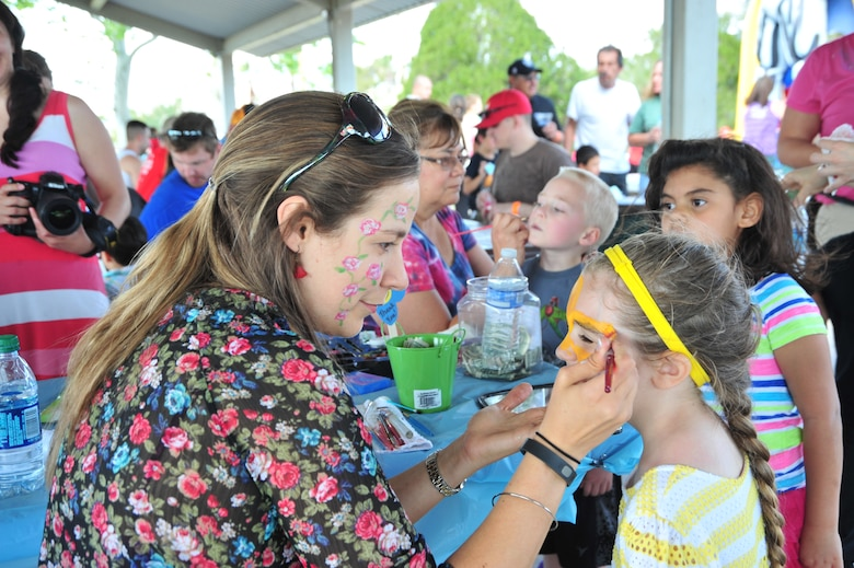 """Local Tucson community is showing their appreciation by hosting a """"Welcome Home"""" barbeque at Davis-Monthan Air Force Base, Ariz., Sept. 3, 2015. The barbeque will be held at Bama Park from 12 to 4 p.m. There will be free food and drinks. Corn-hole tournaments, face-painting, jumping castles, a paintball arena, water activities and a live band will be there for Airmen and their families to enjoy. (U.S. Air Force photo by Staff Sgt. Angela Ruiz/Released)"""