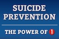 "One person has the power to teach resilience, recognize warning signs, intervene, chat, or make a call; it only takes one person or one act to save another person's life. The Department of Defense, in collaboration with the Department of Veterans Affairs, has launched the ""Power of 1"" campaign in observance of DoD Suicide Prevention Month, September 2015."