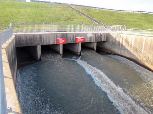 Addicks and Barker Reservoirs, located near the intersection of I-10 and State Highway 6 in Houston, helped prevent $2.1 billion in flood damages during the recent spring rain event.