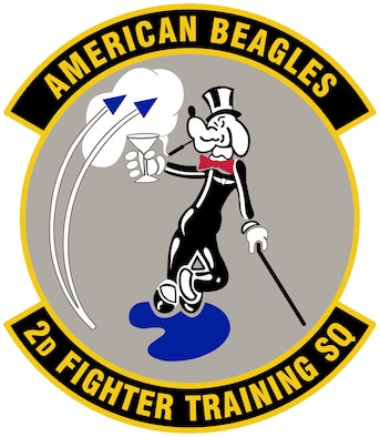 2nd Fighter Training Squadron Patch