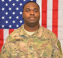 Sgt. 1st Class Omar W. Forde died December 17, 2013, Headquarters and Headquarters Company, 1st Combat Aviation Brigade, 1st Infantry Division, Fort Riley, Kan.