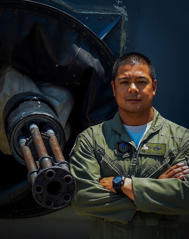 Lt. Col. Derrick Barton is the 4th Special Operations Squadron commander. Barton is in charge of the largest of nine flying squadron within the 1st Special Operations Wing that employs the AC-130U Spooky gunship. (U.S. Air Force photo by Senior Airman Christopher Callaway/Released)