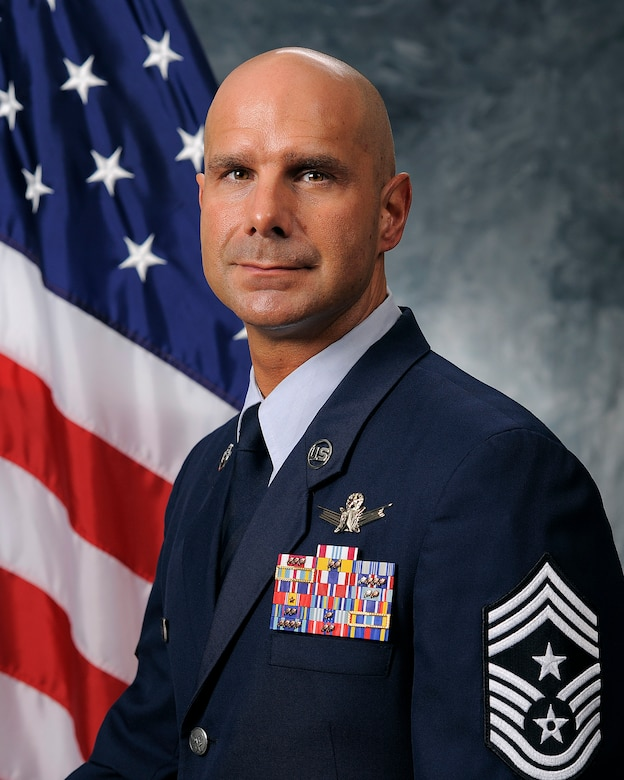 Chief Master Sgt. John Bentivegna, 50th Space Wing command chief