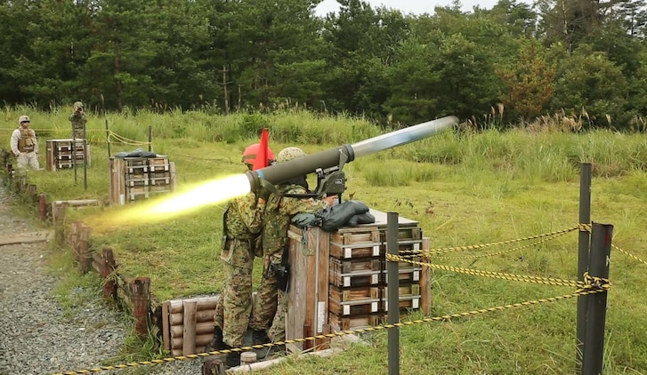 Sgt. Sugimoto Yoshitaka fires the Type 01 LMAT Anti-Tank Missile System during Forest Light 16-1 at Camp Imazu, Takashima, Japan, Sept. 7, 2015. The Japanese Ground Self-Defense Force and U.S. Marines shared knowledge about different anti-tank missile systems. After giving specifications of their respective weapon systems, the two forces used practice rounds to demonstrate how well the weapon systems work. Forest Light will take place Sept. 7-18 with approximately 240 Marines working next to 350 JGSDF members. The exercise will consist of mortar live fire, establishing forward arming and refueling points training, helicopter borne skills and combined arms procedures. Sugimoto is an anti-tank missile man with 50th infantry regiment, 14th Brigade.