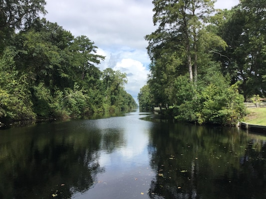 CAMDEN COUNTY, N.C. -- The Dismal Swamp Canal offers boaters a tranquil and serene trip down the Atlantic Intracoastal Waterway. On average, more than 700 boaters utilize the canal between the months of September and December.