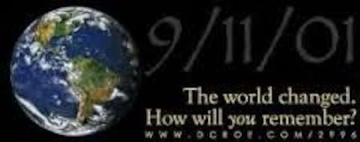 Fourteen years ago today the world chnaged with the attacks, on the World Trade    Center Towers in New York City and the Pentagon in Washington, D.C., and the crashing of an airliner in Shanksville, Pa. (U.S. Air Force graphic)