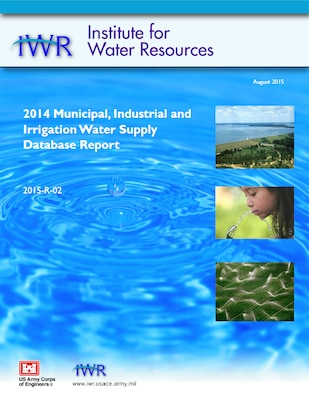 2014 Water supply Report cover