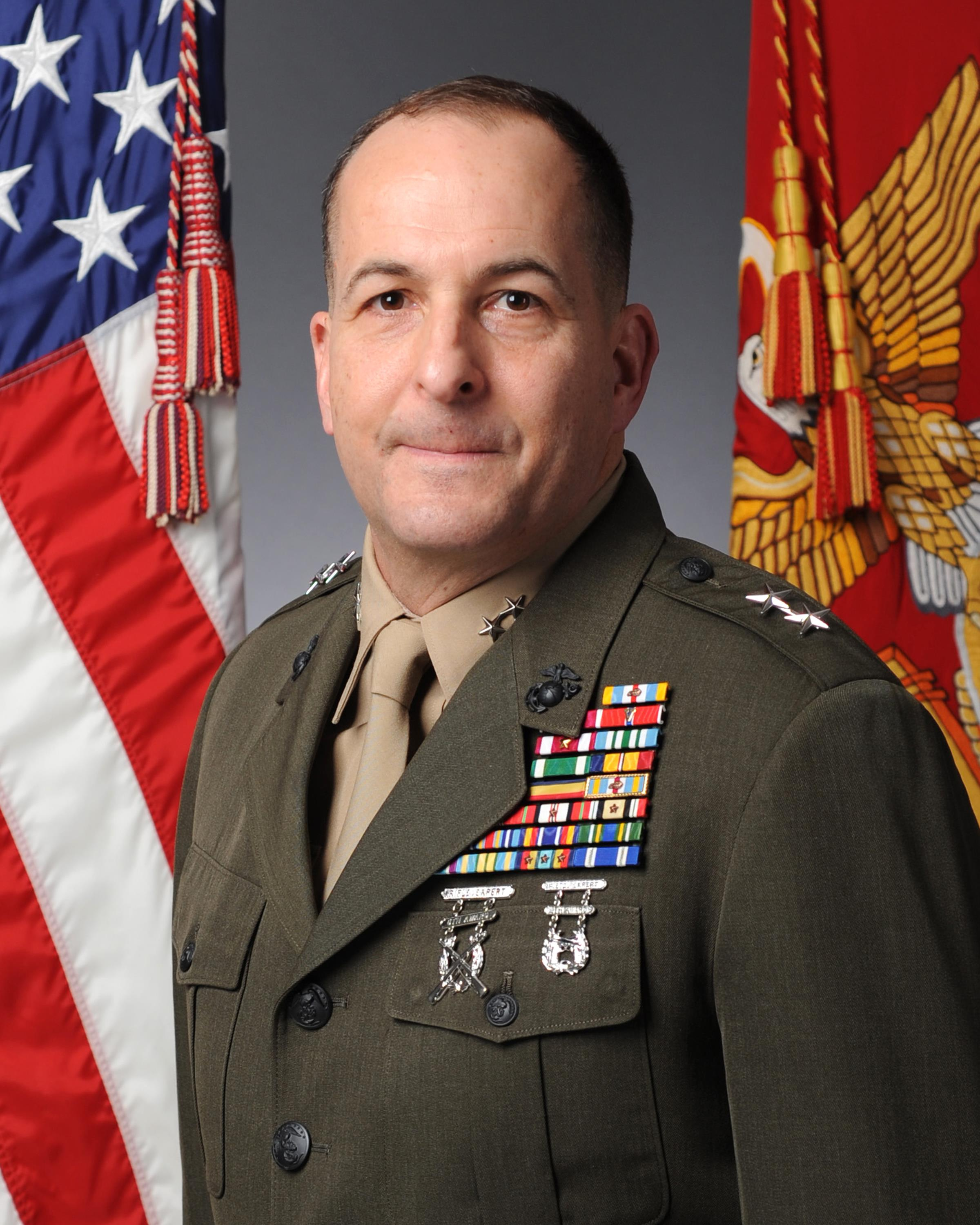 Major General O'Donohue > 1st Marine Division > Biography View