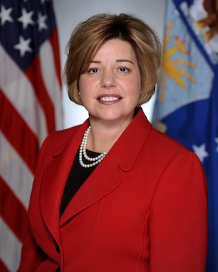 Heidi Grant, the Air Force International Affairs deputy under secretary (U.S. Air Force photo)