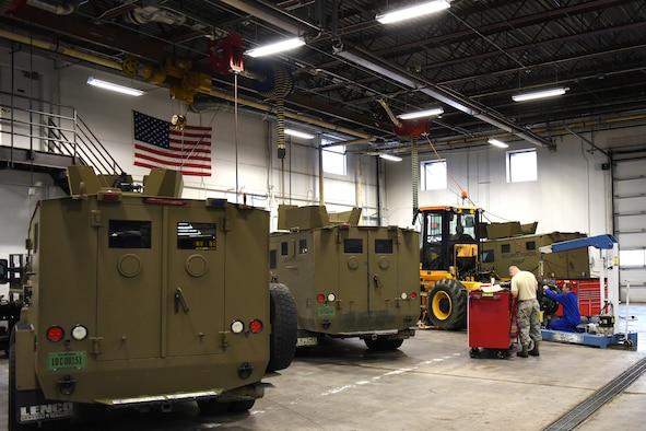 Heavy Equipment Maintenance : Lrs heavy equipment keeps the wheels rolling gt malmstrom