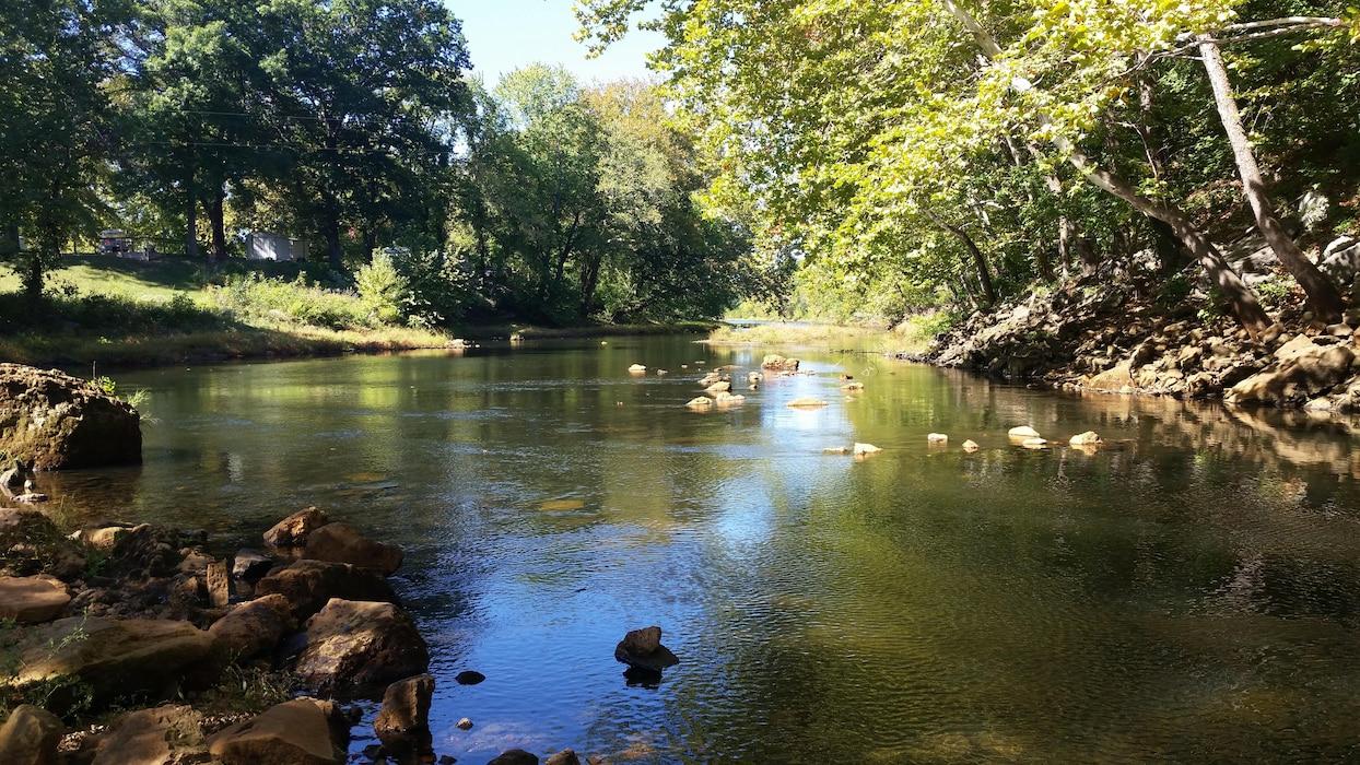 "July Winner - Sandi Peterson  ""Pomme River...a quiet moment"""