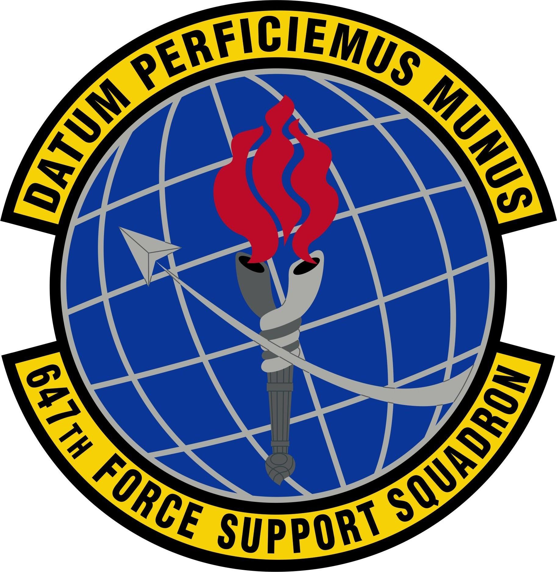 647 Force Support Squadron Emblem