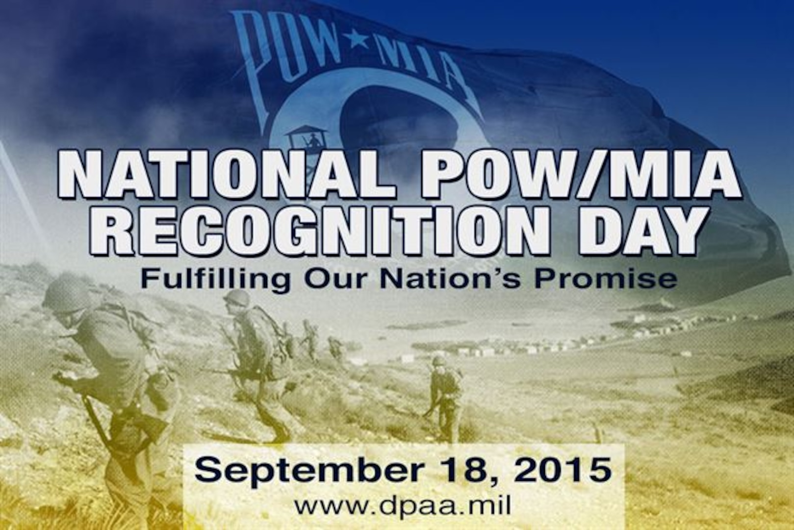 NATIONAL POW/MIA RECOGNITION DAY 2015
