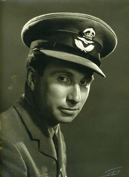 Billy Fiske, pictured here in 1940. Fiske was the second American Royal Air Force pilot killed in combat and the first to die during the Battle of Britain. (Photo courtesy of the 99th Air Base Wing Historian's Office)