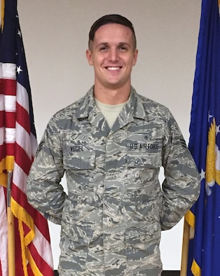 Senior Airman Dylan Vogel, 56th Medical Operations Squadron medical technician, is the Leaders Encouraging Airman Development (LEAD) president at Luke Air Force Base, Ariz. Vogel assists healthcare providers and nurses by in checking patients and assisting them to live a better and healthier life.(U.S. Air Force photo by Airman Mota)