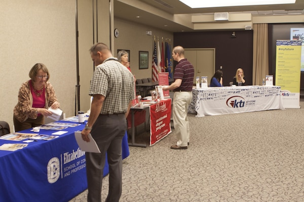 DLA Training hosted its first education fair for DLA Distribution employees June 3.