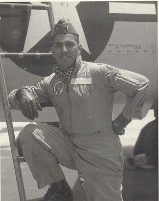 1st Lt. William Edward Cordero during flight training. (Courtesy Photo)