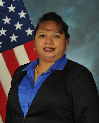 Macy Ooka is the first female director of an OCONUS distribution center at DLA Distribution.