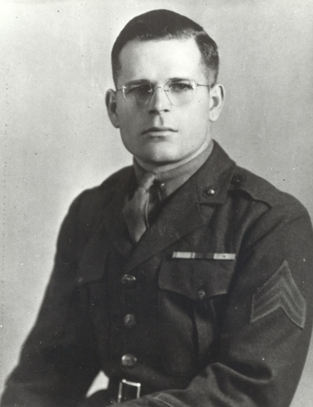 Grant Frederick Timmerman was born in Americus, Kansas, on 19 February 1919. He received the Congressional Medal of Honor posthumously upon his death on 8 July 1944 at Saipan saving his tank crew from an enemy grenade. Timmerman Street on Marine Corps Base Quantico is named in his honor.