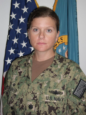 Navy Supply Corps Cmdr. Julie M. Hunter has been awarded the Defense Meritorious Service Medal for her achievements while serving as commander, Defense Logistics Agency Distribution Bahrain, Southwest Asia.