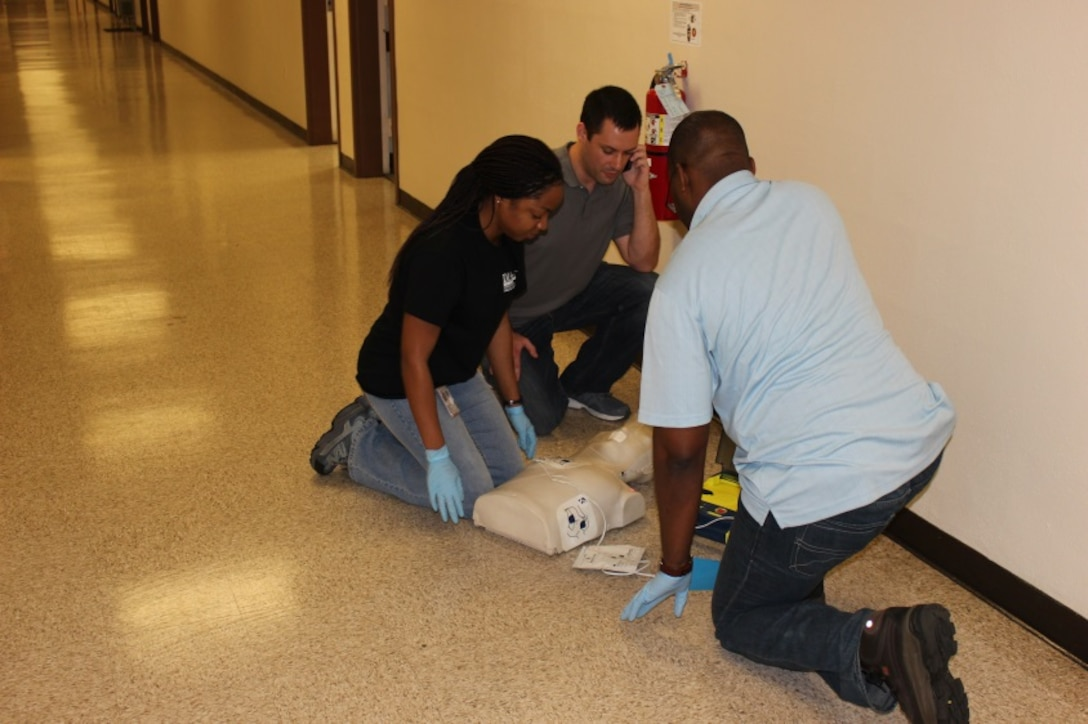 Class attendees participate in a final, hands-on practical exam.