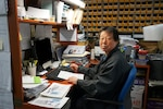 Chae Pong Yu, packer at DLA Distribution Korea is a United States Forces Korea Vietnam Veteran.