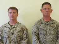 25 Sept 2015 - High Shooter Sgt CONNER, CHRISTOPHE R. shot a 337 with 2D Recon and Coach of the Week Sgt Graikowski, Christopher R. with SOI EAST