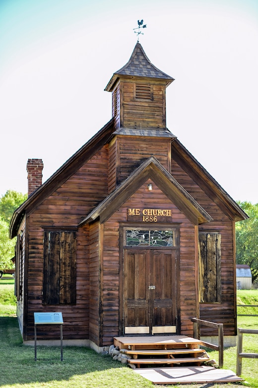The Methodist-Episcopal Church of Marysville, Mont., is one building on the National Register of Historic Places and was built in 1886. According to the Department of the Interior and Montana Historical Society the church was abandoned in 1939 and near collapse until it was bought and restored in 1967. (U.S. Air Force photo/Tech. Sgt. Chad Thompson)