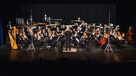 The Concert Band performs in Carson City, Nev., during the spring 2015