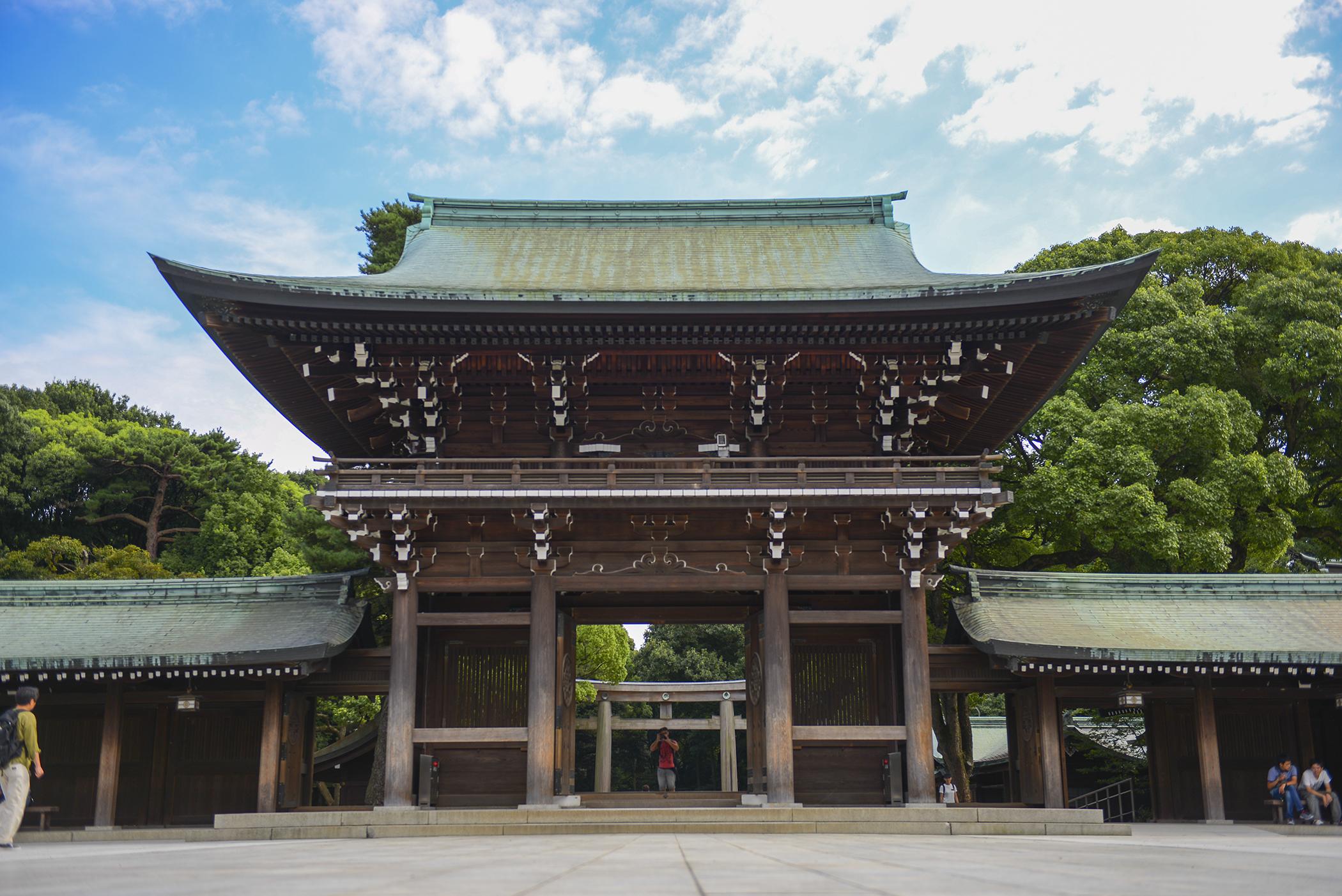 Revering the past: exploring Meiji Shrine > Yokota Air ...