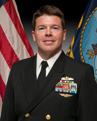 Navy Lt. Cmdr. Christopher S. Mayfield Sr., chief of staff at Defense Logistics Agency Distribution Norfolk, Va., officially retired on April 1 after 30 years of service to the Navy.