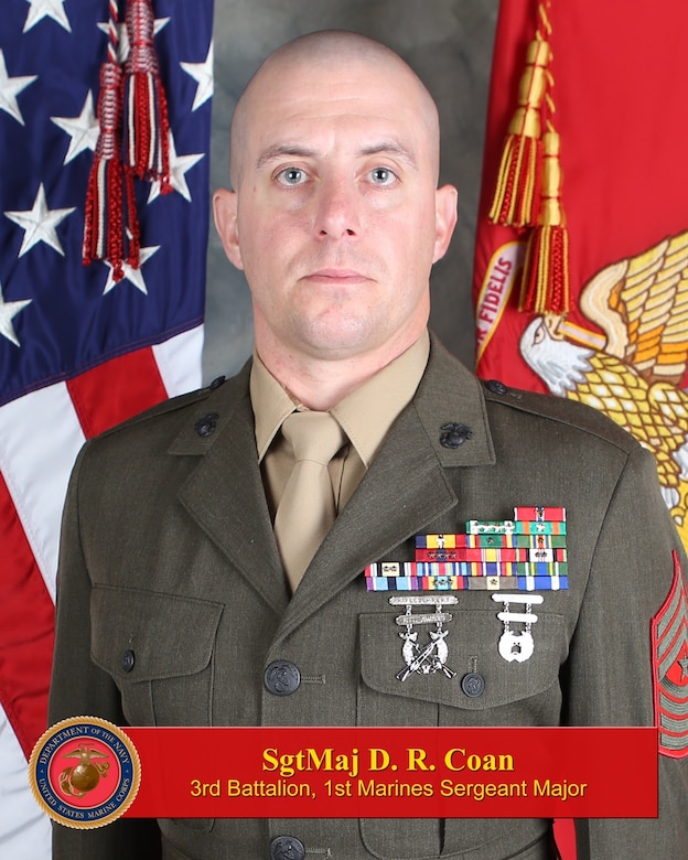 Sergeant Major, 3rd Battalion, 1st Marines